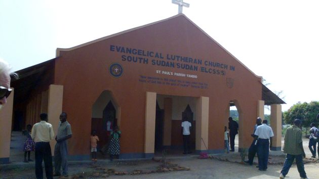 Lutheran church in Sudan. / ELCSS (CC0).,