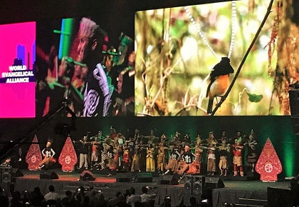 The rich culture of Indonesia was presented during the opening ceremony of the WEA GA. / V. Raichinov