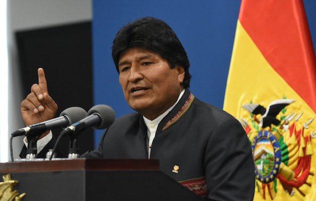 Evo Morales, October 2019. / @evoespueblo,