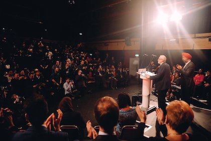 Jeremy Corbyn has presented theRace and Faith Manifesto of the Labour Party. / Twitter @jeremycorbyn