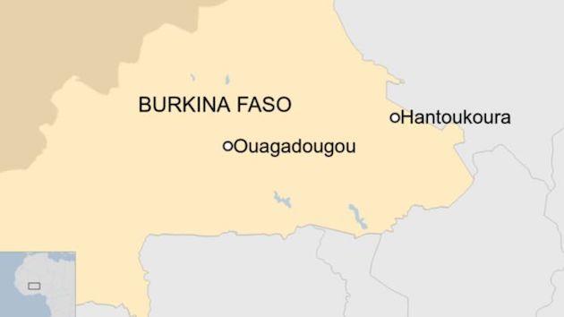 Unidentified gunmen opened fire inside a church in  in Hantoukoura.,