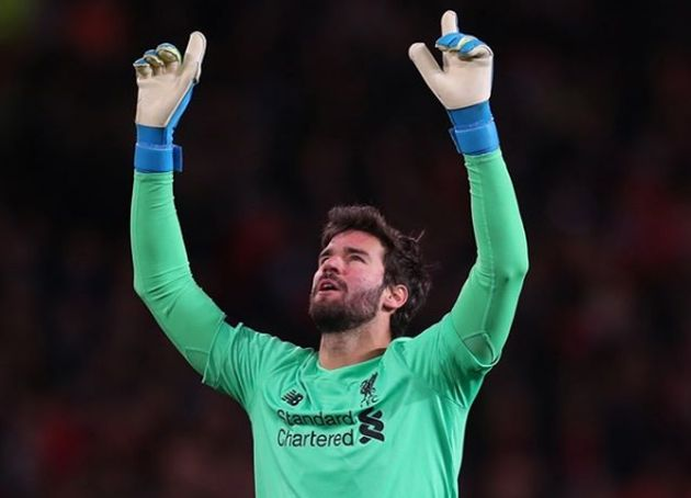 Alisson Becker, current goalkeeper of FC Liverpool and the Brazilian national team. / Instagram Alisson Becker.,