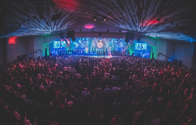 King Jesus Ministry church in Miami. / KJM Facebook.,