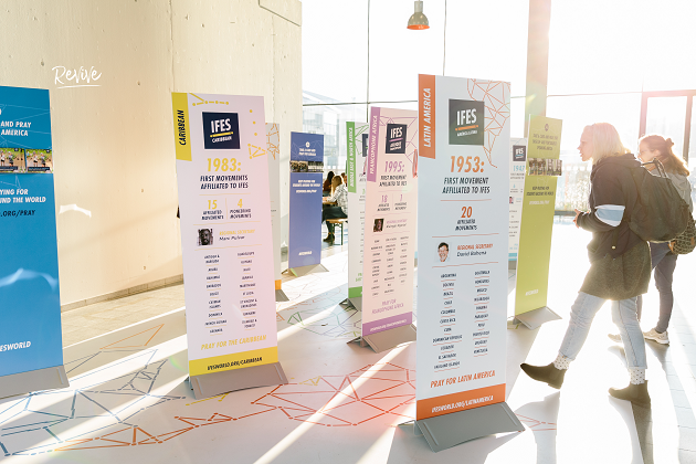IFES was jined by other 30 partner organisations with a common goal for Europe. / Photo: Revive Europe