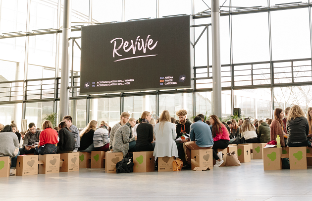 Evangelical university students from acrosss Europe came together in Karlsruhe, Germany, 27 December-1 January. / Photo: Revive Europe,