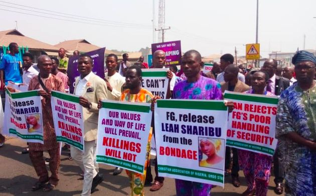 Around Five million people march against Christian persecution in Nigeria. / CAN,
