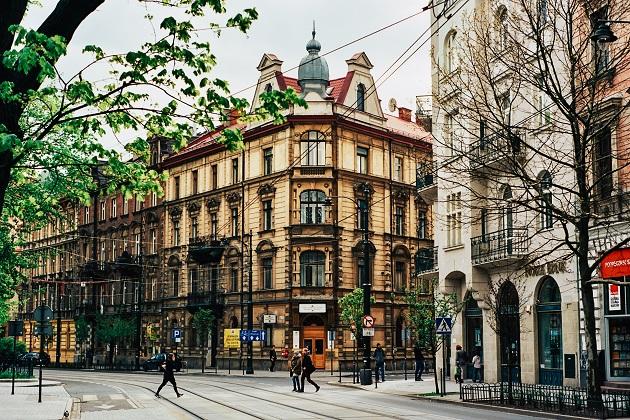 A view of Krakow, Poland. / O. Senyuk (Unsplash, CC0),