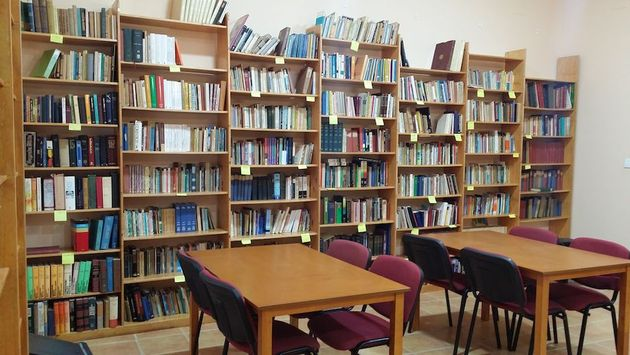 The library already has a fund of 4,000 cataloged documents. / Samuel Crespo.,