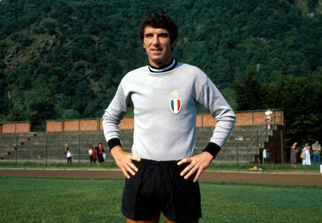 Dino Zoff, goalkeeper of the Juventus and  Italian national team. / Juventus.,