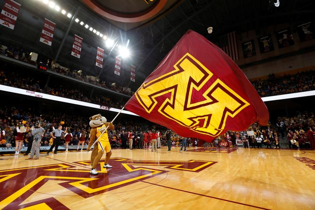 Minnesota Univerity basketball. / Gophers Minnesota University Sports.,