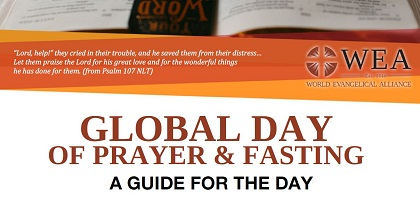 One of the marterials of the Day of Prayer and Fasting 2020. / WEA