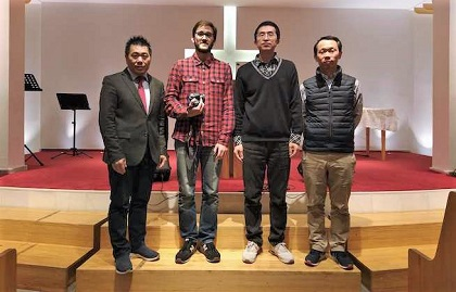 Leaders of the Chinese Christian Church in Spain spoke to for these series of reports in February 2020. / Rebecca Sun