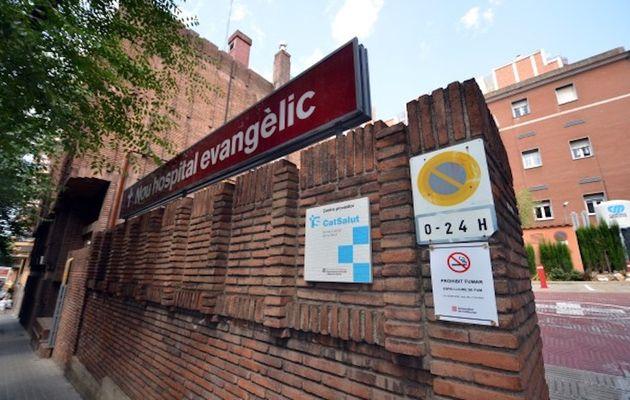 The Nou Hospital Evangèlic has set up a specialarea for coronavirus patients. ,
