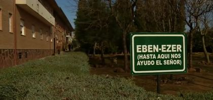The evangelical nursing home in Linares needs human and material resources. / TVE.