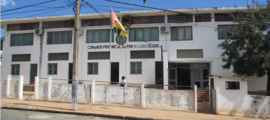 Exterior of the Cabo Delgado Provincial Command, the province of Mozambique where the Al-Shabaab jihadist group operates. / Government of Mozambique.,