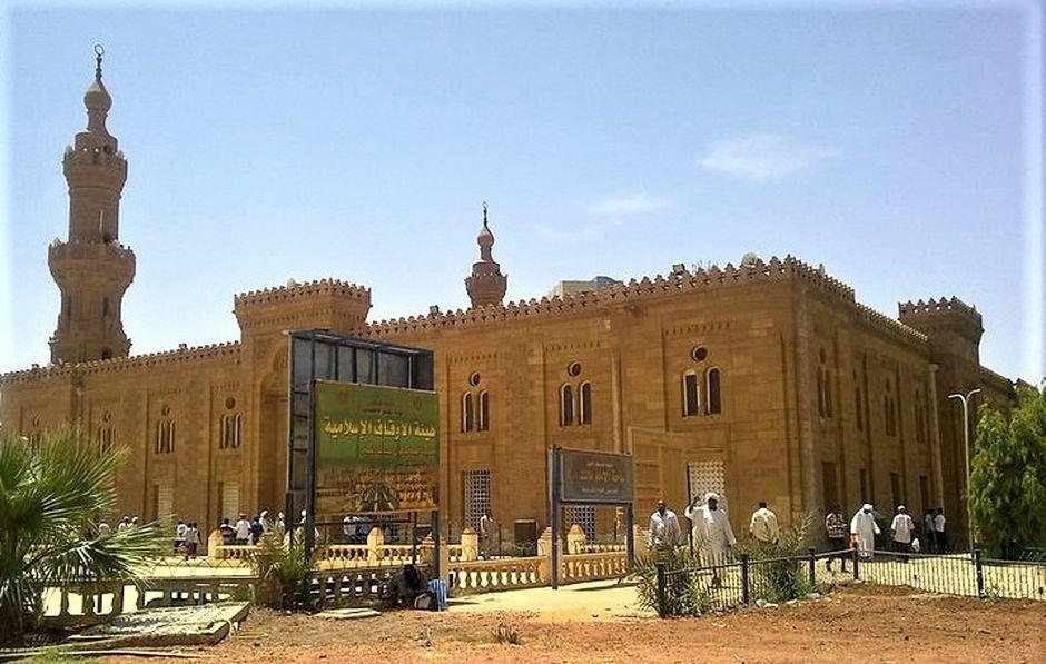 """Khartoum Mosque Azri Alhaq. / <a target=""""_blank"""" href=""""https://morningstarnews.org/"""">Morning Star News</a>.,"""