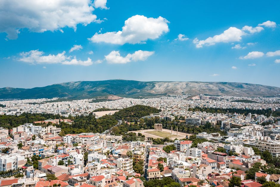 """Athens, Greece,  the European country that has the largest share of residents who tie belief in God to morality, survey says. <a target=""""_blank"""" href=""""https://unsplash.com/@zombience"""">Ryan Spencer</a>, Unsplash CC0.,"""