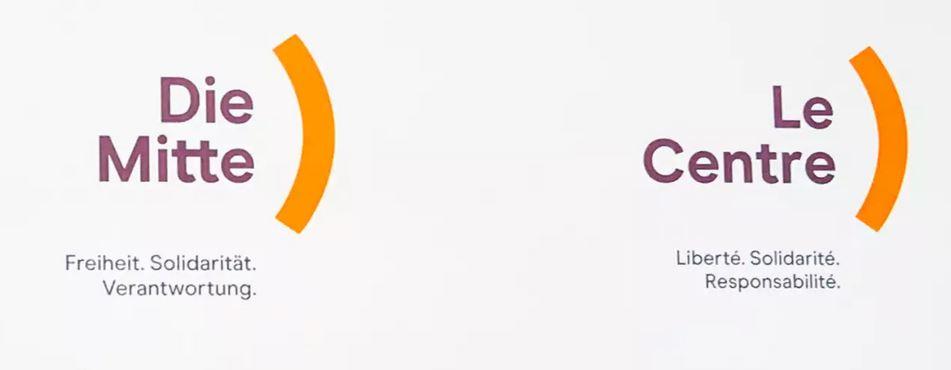 O novo nome e logotipo do CVP, agora rebatizado como The Center.