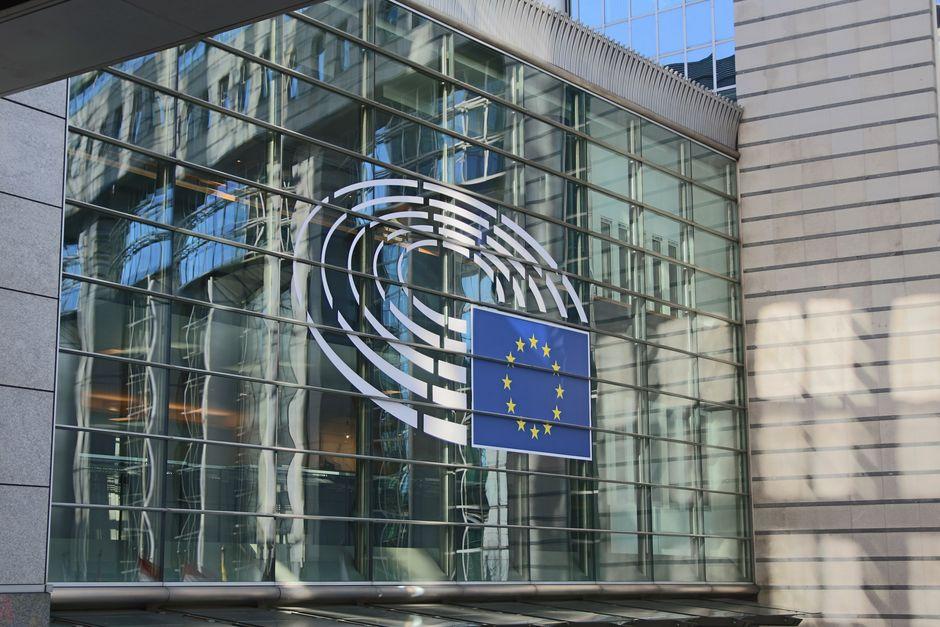 "Facade of the European Parliament building, Brussels, Belgium. /  <a target=""_blank"" href=""https://unsplash.com/@guillaumeperigois"">Guillaume Périgois</a>, Unsplash CC0.,"