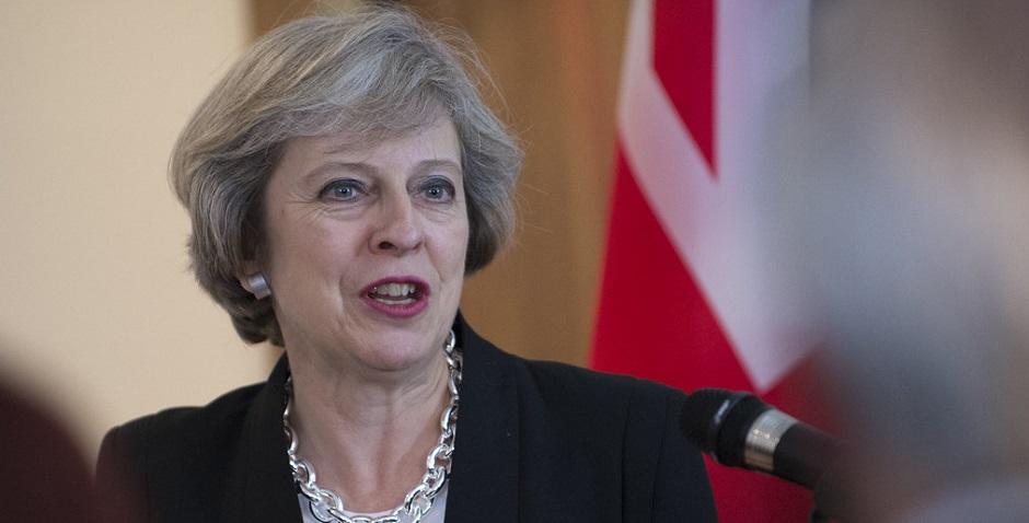 "Former UK Prime Minister, Theresa May. / Photo: <a target=""_blank"" href=""https://www.flickr.com/photos/number10gov/"">Tom Evans, Number 10</a>, Flickr, CC,"