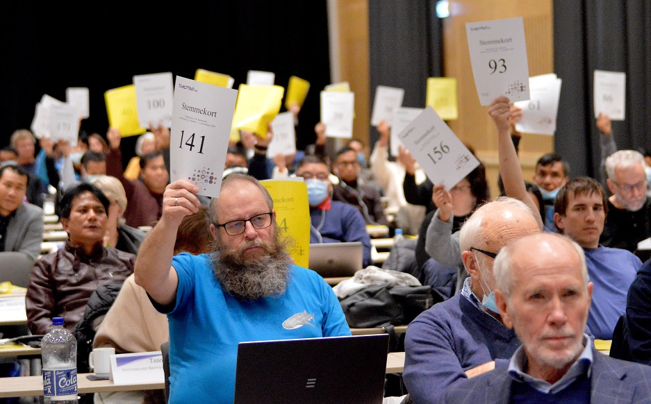 """A majority of The Norwegian Baptist Union churches confirmed their conservative view of marriage during their recent annual meeting. / Photo: Stein Gudvangen, <a target=""""_blank"""" href=""""https://www.kpk.no/"""">KPK</a>.,"""