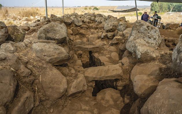 Forte da era do Rei Davi desenterrado nas Colinas de Golã