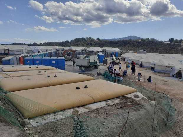 The 'new Moria' prepares for winter with pandemic restrictions and thousands in tents