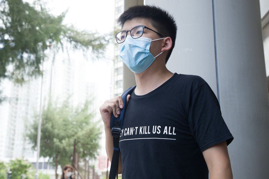"""Hong Kong Christian activist  Joshua Wong. / <a target=""""_blank"""" href=""""https://twitter.com/joshuawongcf"""">Twitter Joshua Wong</a>,"""