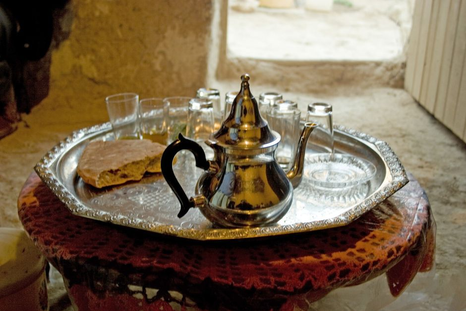 Hospitality is a significant part of the Amazigh culture. / Amy Wenzel. ,
