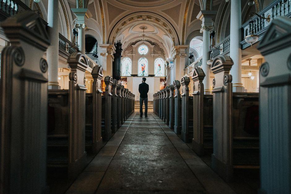"""A church in London, England. /  <a target=""""_blank"""" href=""""https://unsplash.com/@_leafabienne"""">Lea Fabienne</a>, Unsplash CC0.,"""