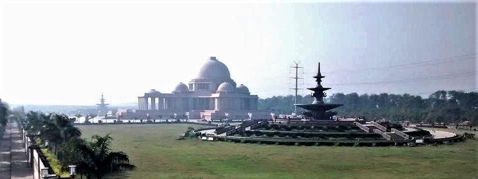 "Rashtriya Dalit Prerna Sthal and Green Garden memorial in Noida, Uttar Pradesh, India. / <a target=""_blank"" href=""https://morningstarnews.org/"">Morning Star News</a>.,"