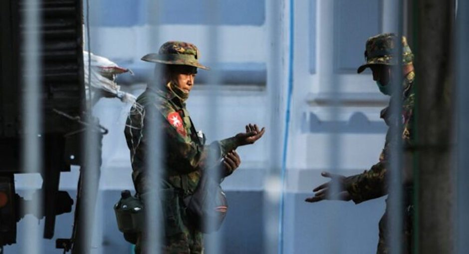 After beginning a democratic transition in 2010, following forty years of dictatorship, military has seized power in Myanmar. / Twitter.,