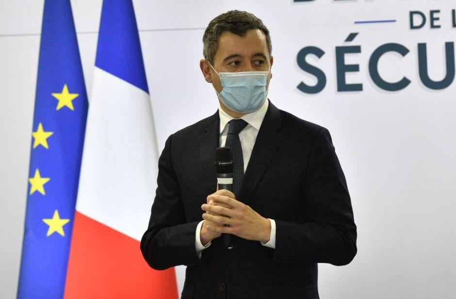 The Minister of  Interior of France, Gérald Darmanin. / Twitter Gérald Darmanin.,