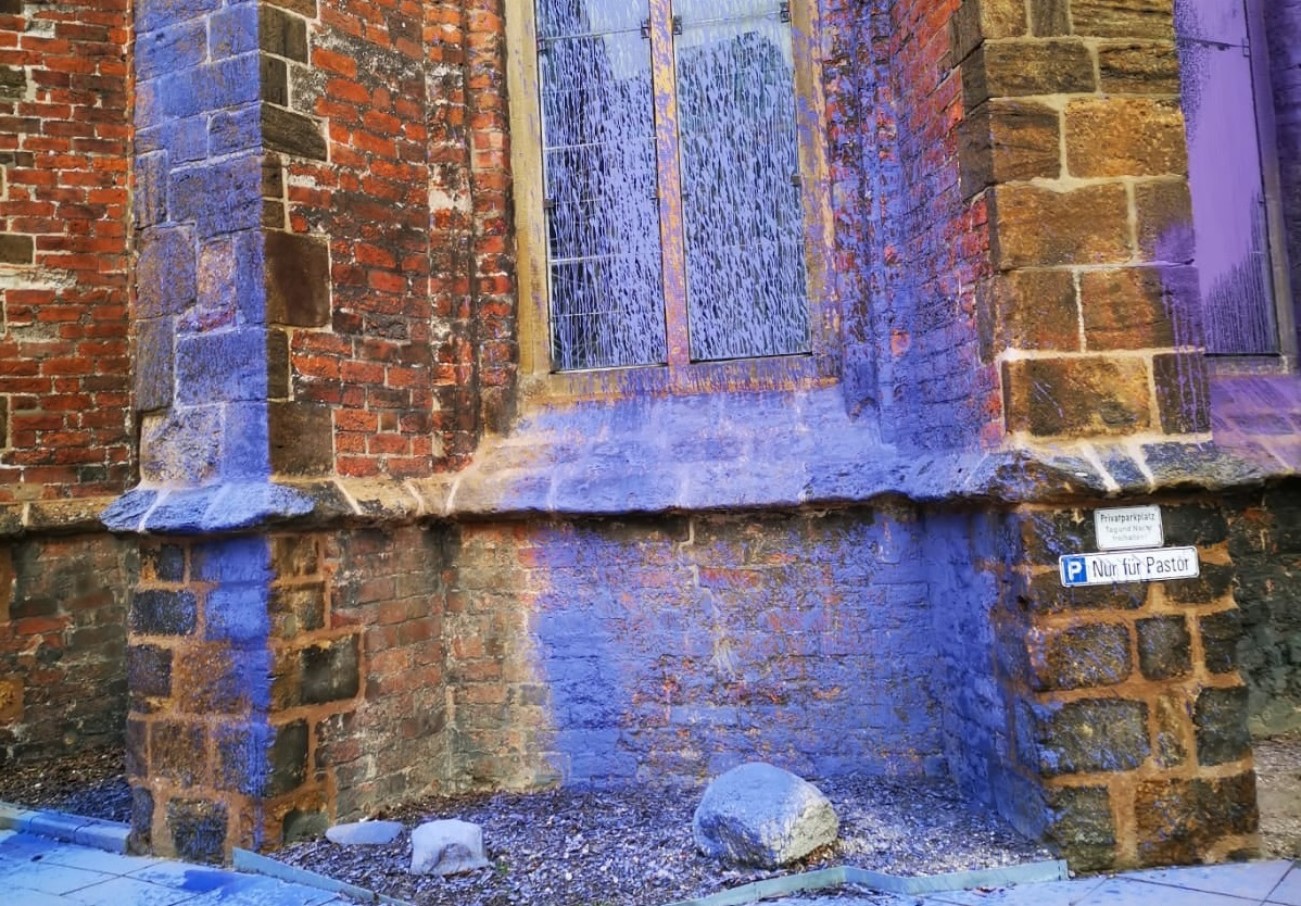 Iglesia en Bremen vandalizada de nuevo