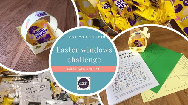 Give a doorstep gift this Easter