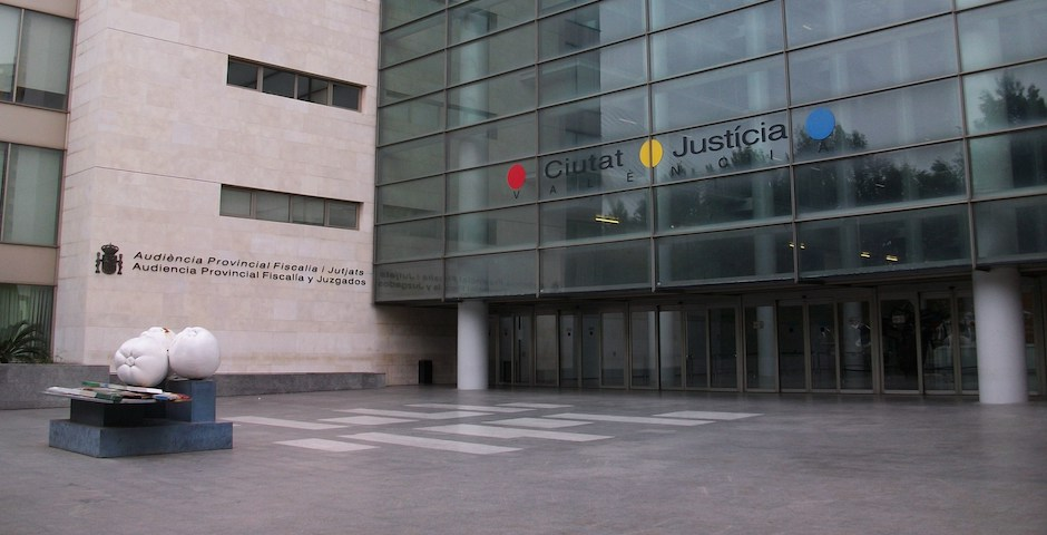 The Valencia justice courts where the trial agains the nine German preachers was held. / Wikipedia, CC,