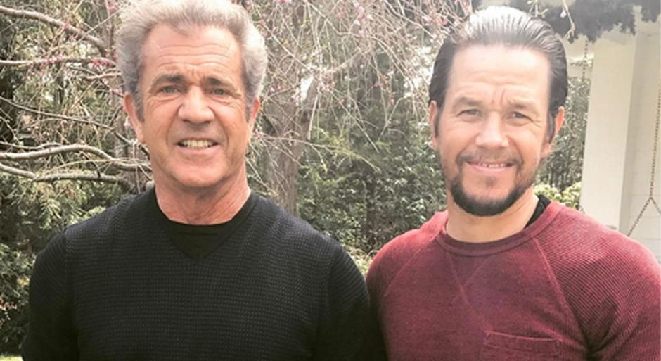 """Mel Gibson and Mark Wahlberg have teamed up for the biopic of Father Stuart, a boxer turned priest. / <a target=""""_blank"""" href=""""https://www.instagram.com/markwahlberg/"""">Instagram Mark Wahlberg</a>.,"""