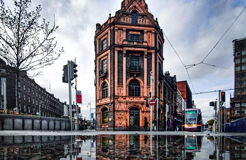 "A street in Dublin, Ireland. / Photo: <a target=""_blank"" href=""https://unsplash.com/@opticonor"">Conor Luddy</a>, Unsplash CC0.,"