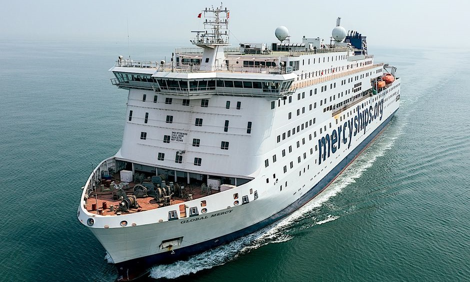 Global Mercy is Mercy Ships' newly built medical vessel which will be operational in Africa next year. / Photo: Mercy Ships. ,