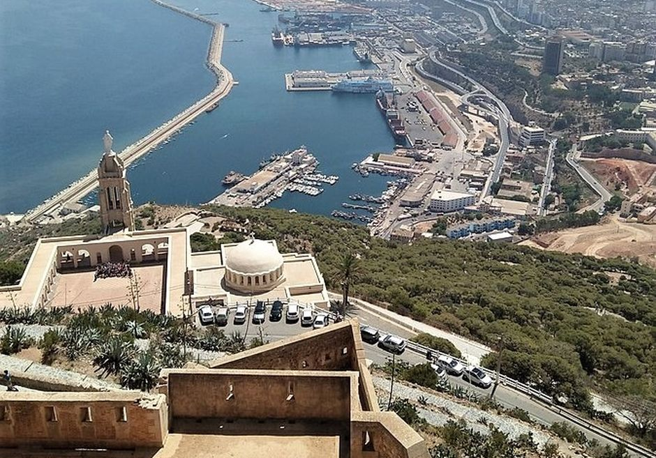City of Oran, including Santa Cruz citadel and church. / Lilata, Creative Commons via Morning Star News.,