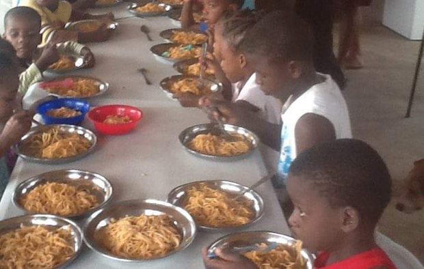 """In Haiti, """"for most children, school means food"""""""