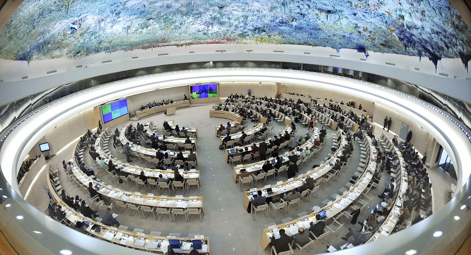 """A general view of participants at the 16th session of the Human Rights Council in Geneva, Switzerland. / Photo: <a target=""""_blank"""" href=""""https://www.flickr.com/photos/un_photo/"""">United Nations Photo</a>, Flickr, CC,"""