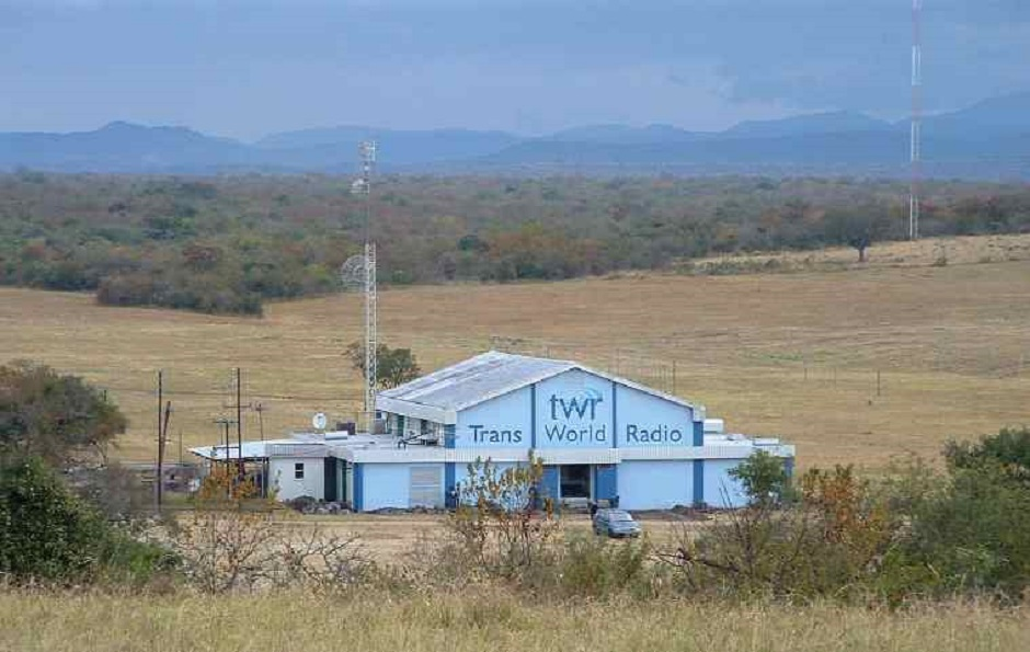 """The Word of God is going out to many parts of Africa from the Eswatini Transmitter Building / Photo: <a target=""""_blank"""" href=""""https://twrafrica.org"""">TWR</a>,"""