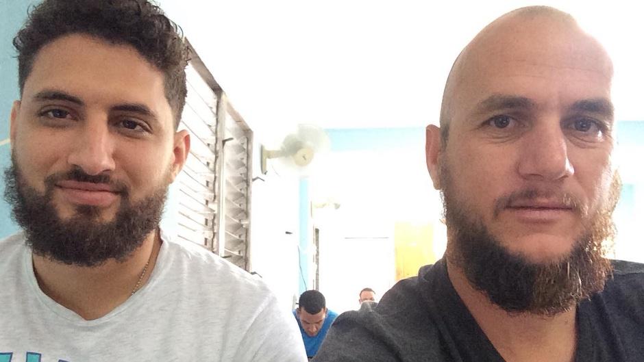 Pastors Yarian Sierra (left) and Yéremi Blanco (right) / CSW, Facebook Seminario Carey,