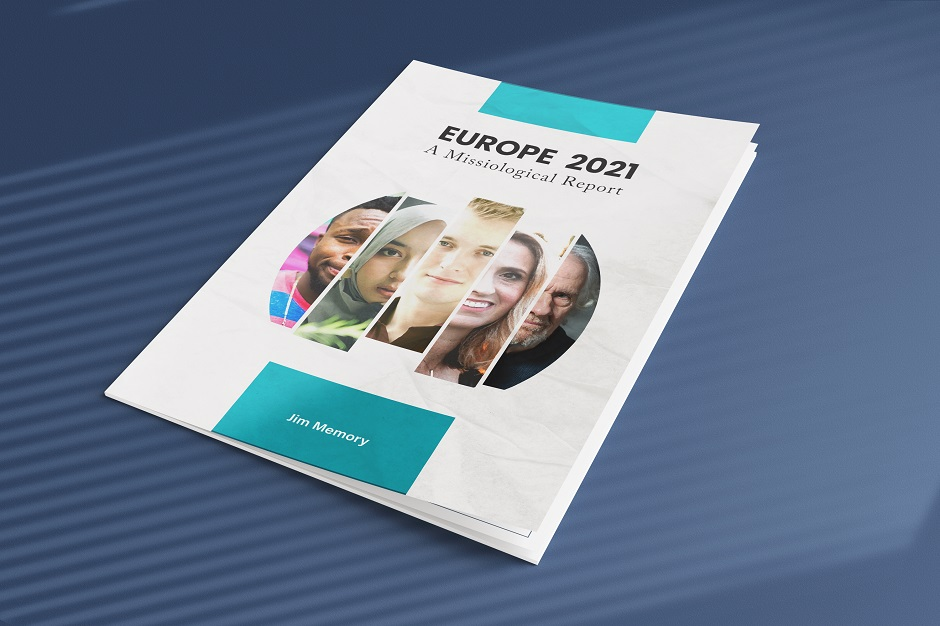 The 'Europe 2021: A Missiological Report', by Jim Memory, published in July 2021. ,