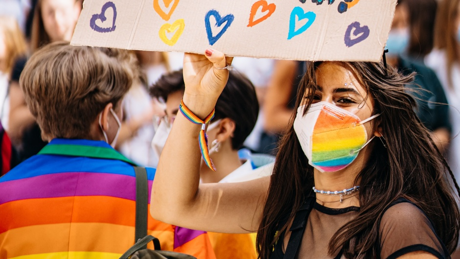 "A LGBT demonstration in Germany. / Photo: <a target=""_blank"" href=""https://unsplash.com/@raphi_rawr"">R. Renter</a>, Unsplash, CC0,"