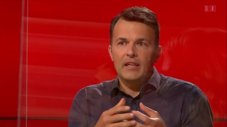 """Marc Jost of the Swiss Evangelical Alliance speaks at a debate about the Marriage for All referendum in the Swiss television. / <a target=""""_blank"""" href=""""https://www.srf.ch/play/tv/club/video/ehe-fuer-alle?urn=urn:srf:video:7b747c60-43bc-4c34-8962-34838c046f69"""">SFTV</a>,"""