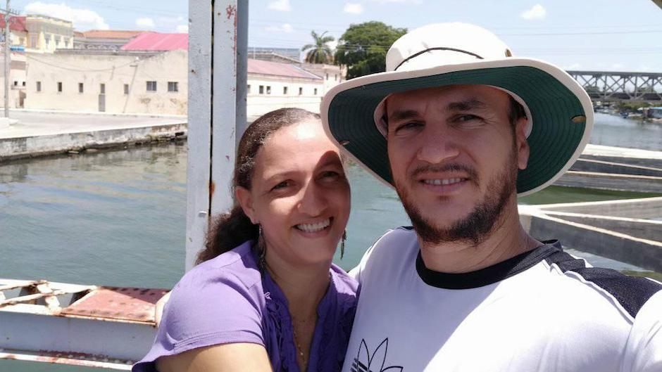 Pastor Yéremi Blanco and his wife Adelys Rodríguez. /Facebook Yéremi Blanco,