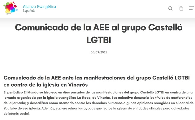 """Church accused of """"LGBTphobia"""" in the media for organising workshop on family and sexuality"""