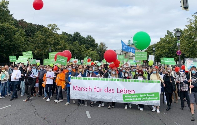 Thousands joined March For Life in Germany and Switzerland